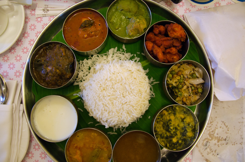 Thali lunch