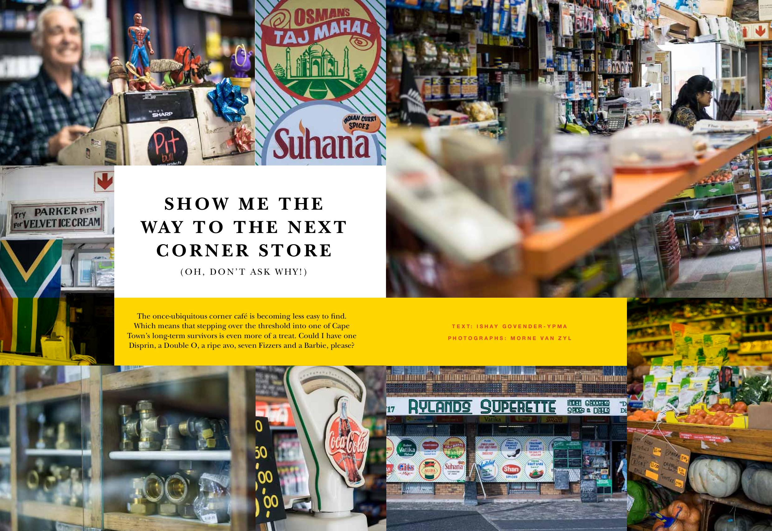 Cape Town Corner Stores Food And The Fabulous