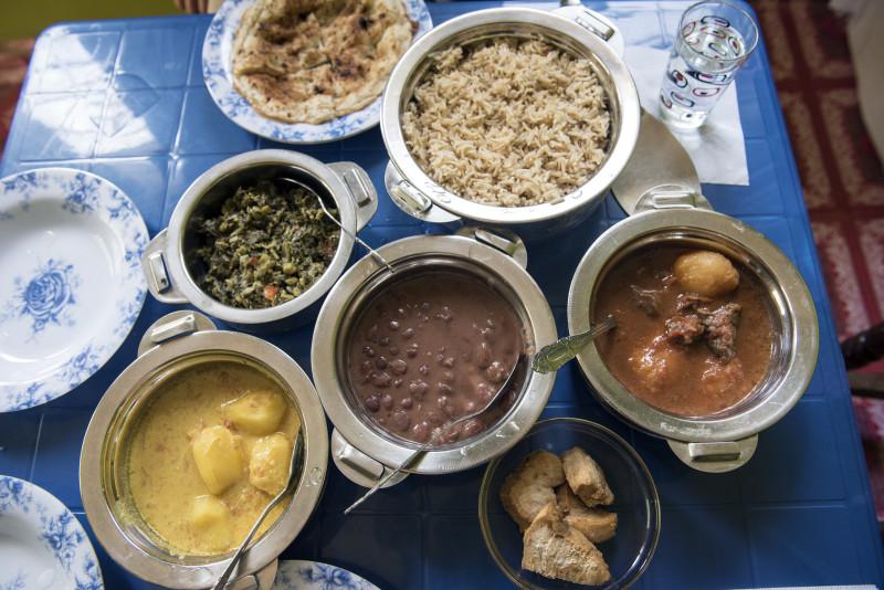 Zanzibari home food