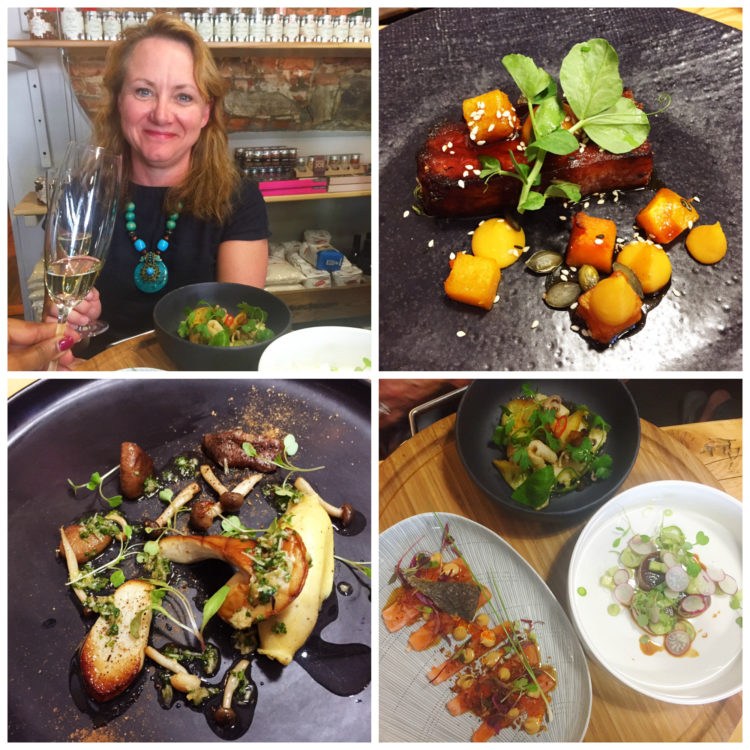 Chefs Warehouse with my friend Linda