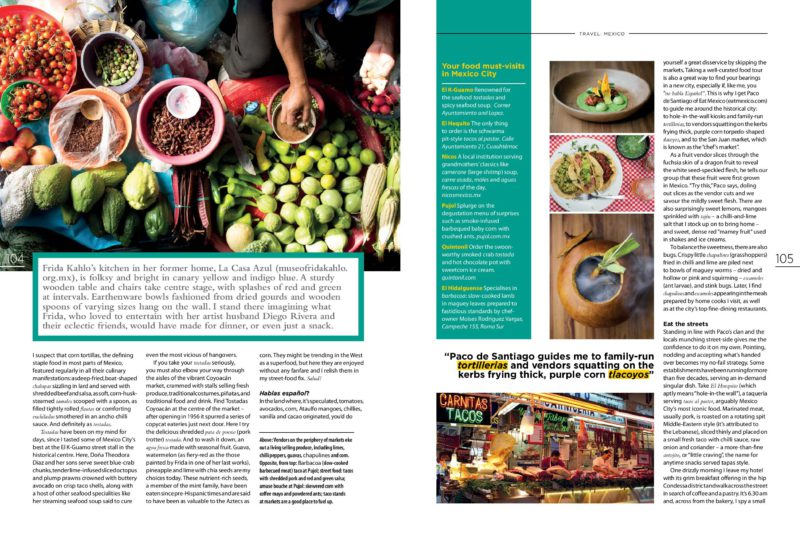 Taste magazine Mexico