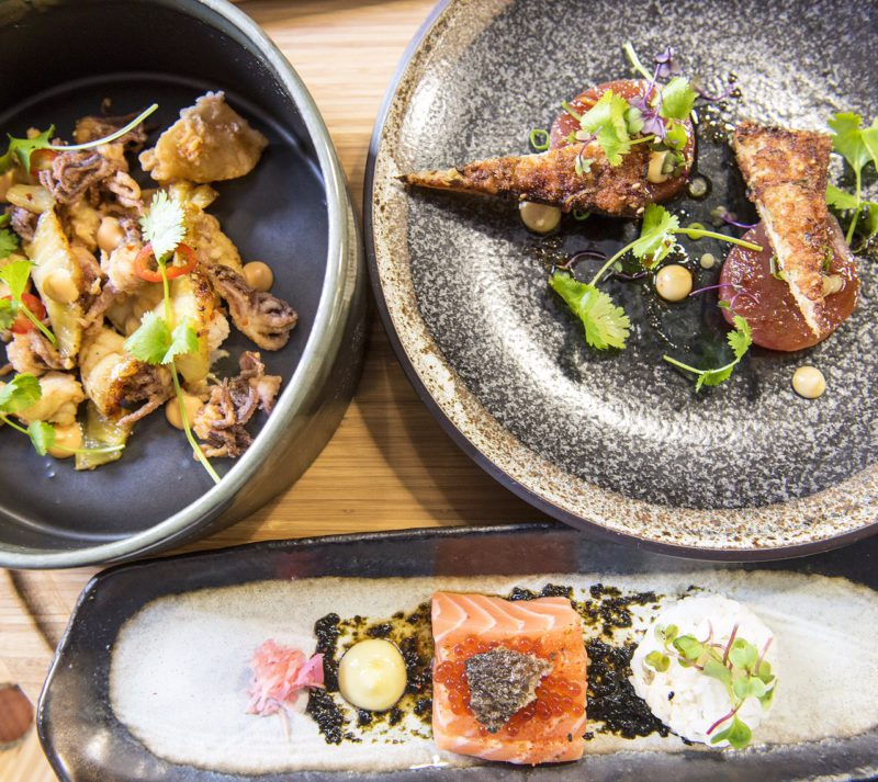 What's for lunch? Food writers and travellers often ask for recommendations of where to eat around Cape Town and I'd say Liam Tomlin's Chef Warehouse & Canteen is one of my top choices in the Bree Street stretch. The tapas board for two is served in 3 stages and a real treat. ? Image: Ishay Govender